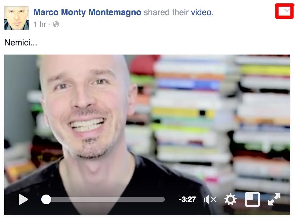 Facebook Video uno