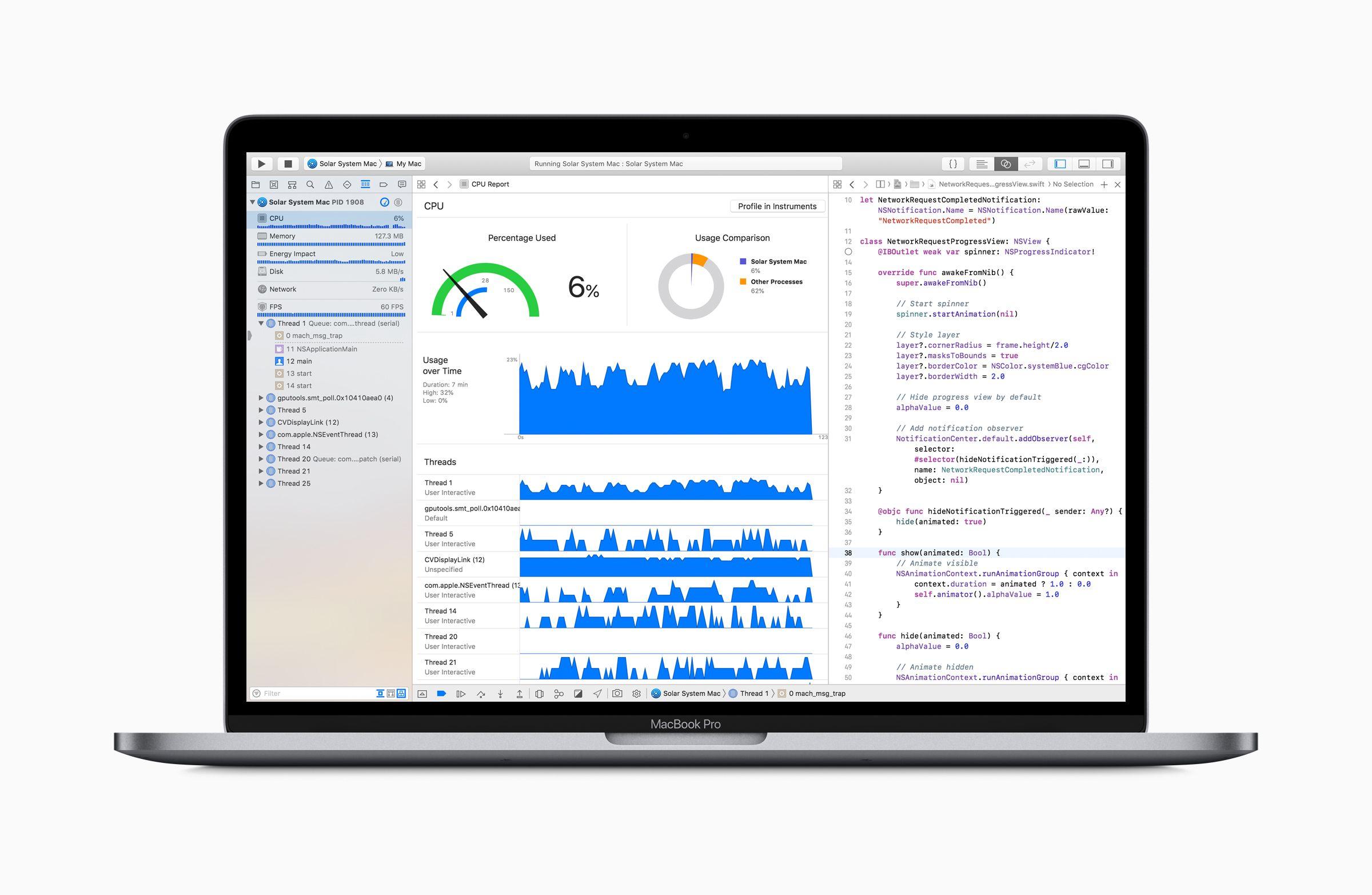 MacBook Pro 2018 coding