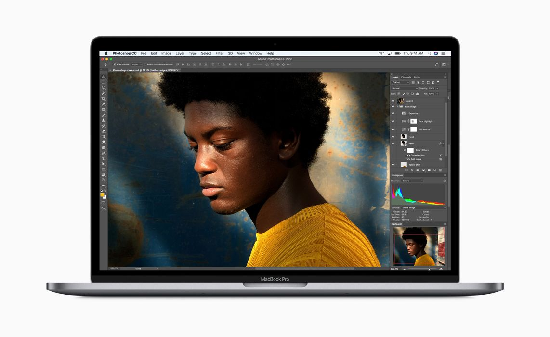 MacBook Pro 2018 display