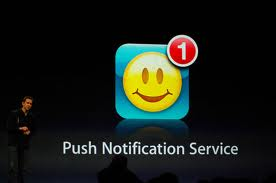 Presentazione delle notifiche push